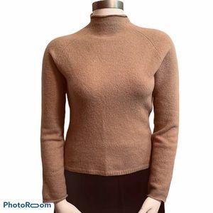 Calvin Klein Wool Rabbit Hair Turtle Neck Sweater